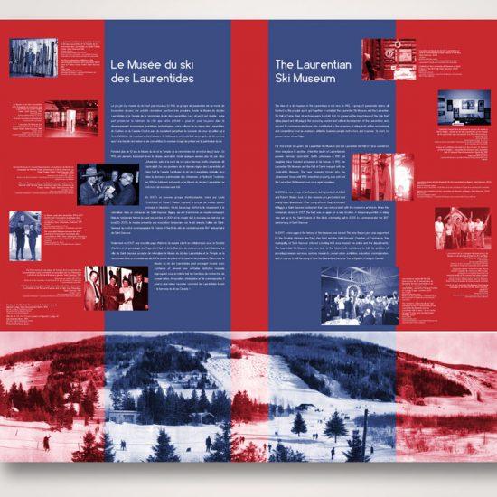 Exposition Le ski s'apprend | Coquelicot design