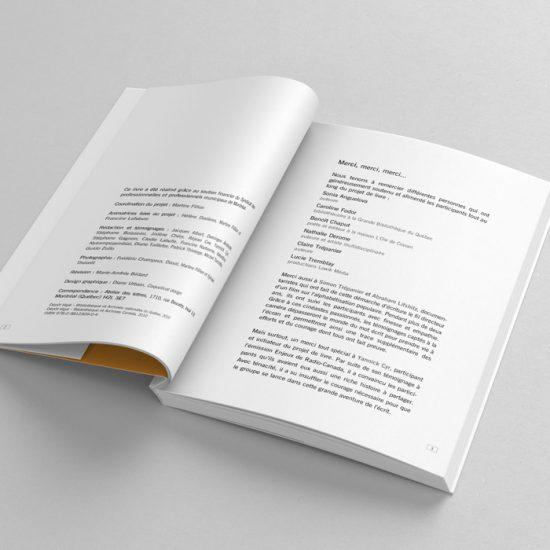 Recueil de textes De l'enfance à l'espoir | Coquelicot design