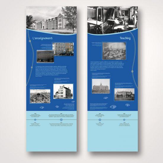 Exposition Peuple de l'oeil - Bannières | Coquelicot design