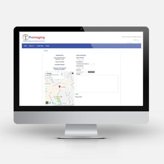 Site web - Proimaging | Coquelicot design