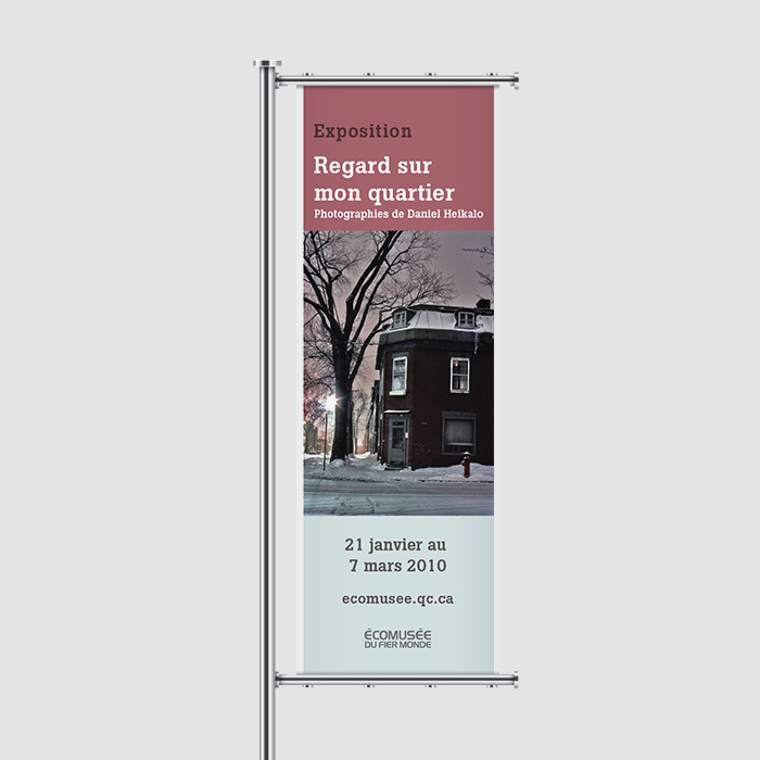 Bannière extérieure - Heikalo | Coquelicot design
