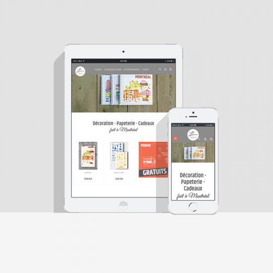 Site web - L'atelier Coquelicot | Coquelicot design