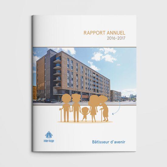 Édition - Rapport annuel Inter-loge | Coquelicot design