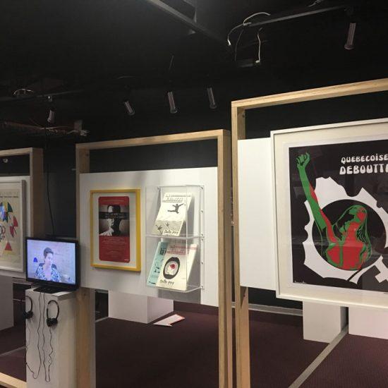Design d'exposition - InterReconnaissance | Coquelicot design-design6