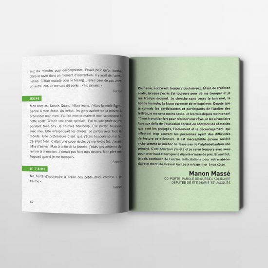 Édition - L'Abécédaire populaire | Coquelicot design