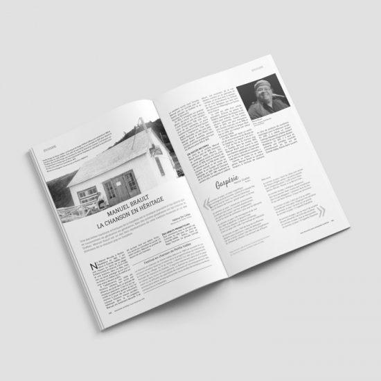 Édition - Magazine Gaspésie | Coquelicot design