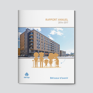 Rapport annuel - Interloge | Coquelicot design