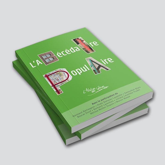 Livre - L'Abécédaire populaire | Coquelicot design