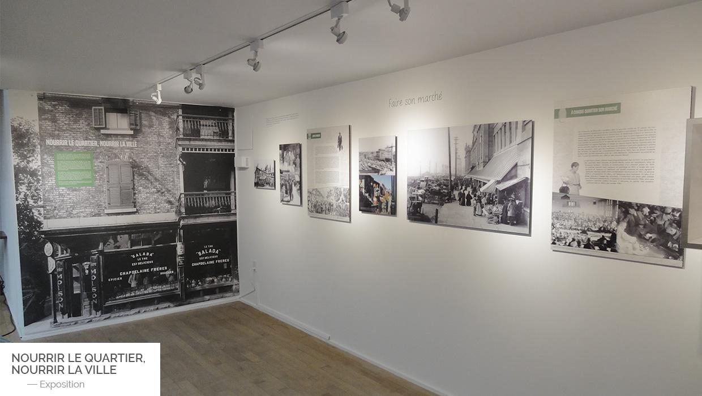Exposition - Nourrir le quartier, nourrir la ville | Coquelicot design