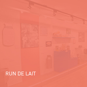Exposition - Run de lait | Coquelicot design