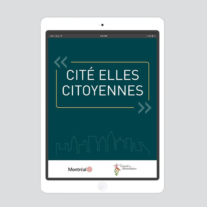 Carton virtuel - Cité Elles | Coquelicot design