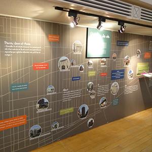 Exposition permanente Écomusee du fier monde | Coquelicot design